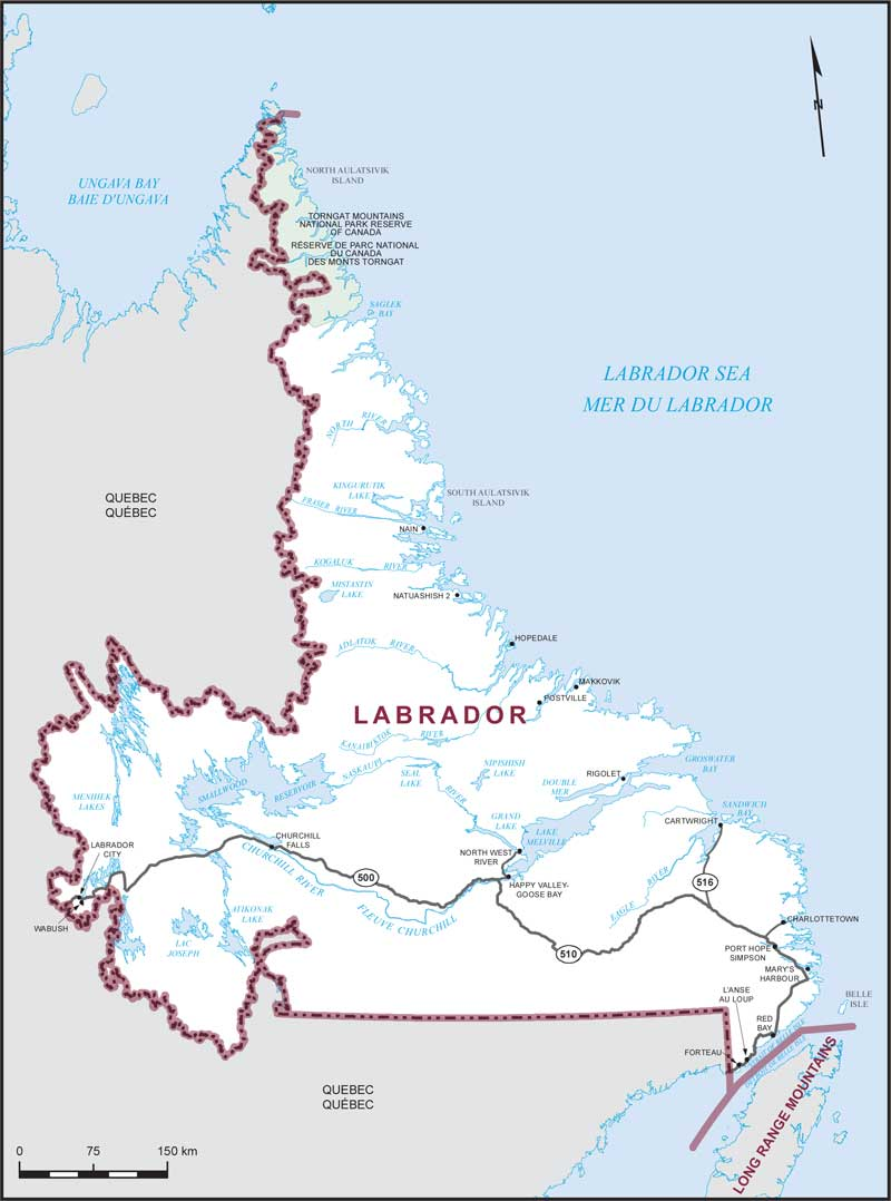 Picture of: Labrador Maps Corner Elections Canada Online