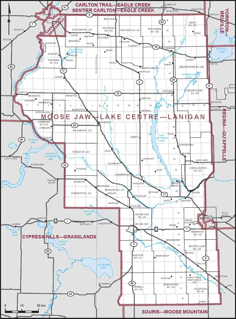 Moosejaw Canada Map Moose Jaw–Lake Centre–Lanigan | Maps Corner | Elections Canada Online