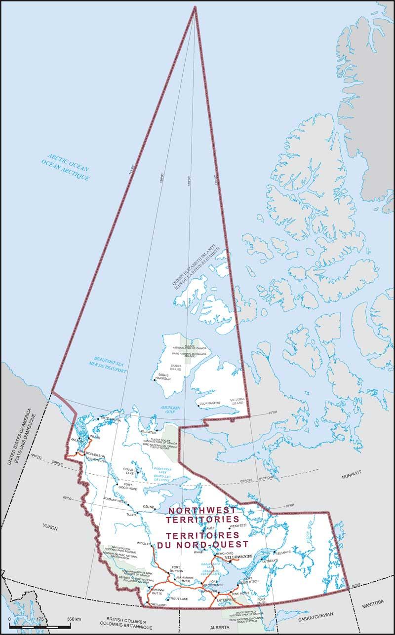 Northwest Territories | Maps Corner | Elections Canada Online