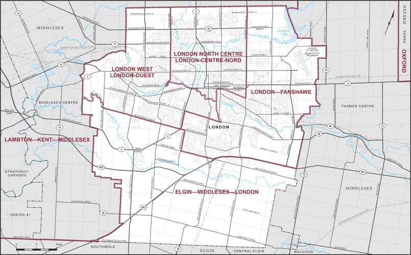 Map Of City Of London.City Of London Maps Corner Elections Canada Online