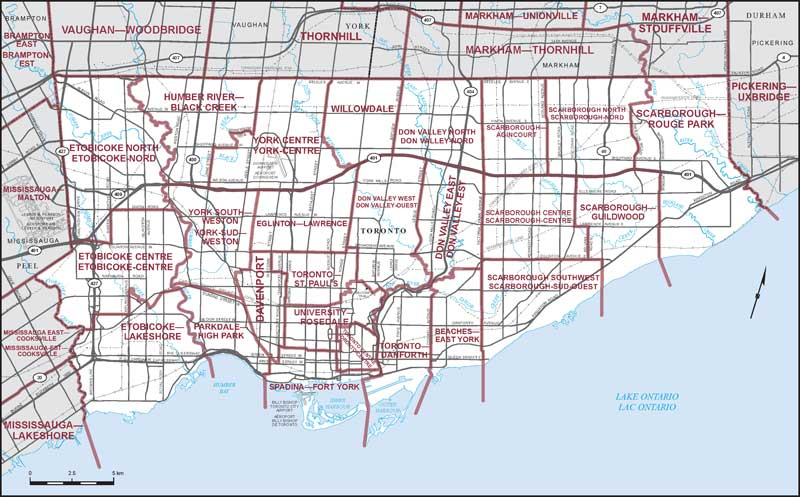 City Of Toronto Map City of Toronto | Maps Corner | Elections Canada Online City Of Toronto Map