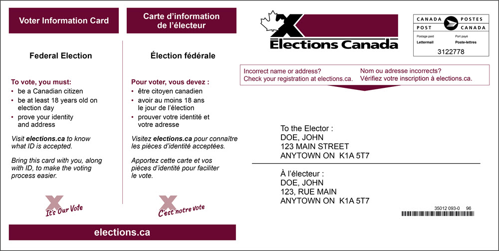 Carte Usa Canada Cote Est.Elections Canada Online Faqs On Voting