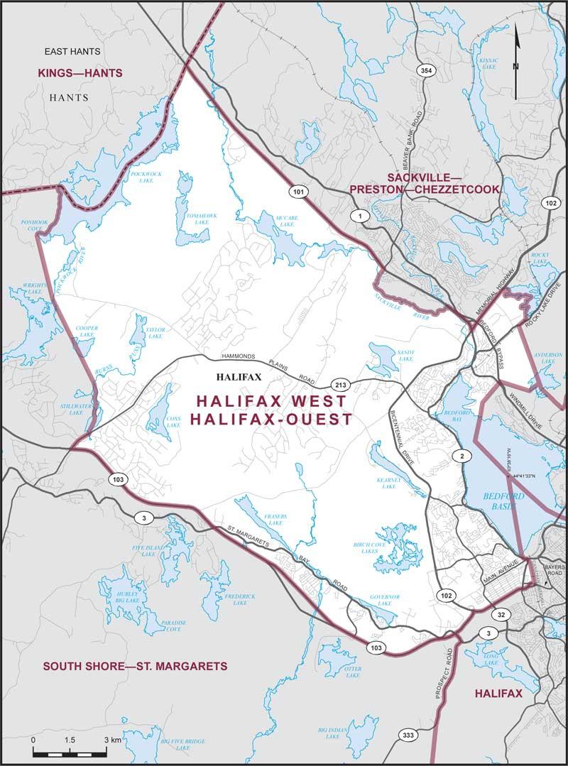 Halifax West Maps Corner Elections Canada Online
