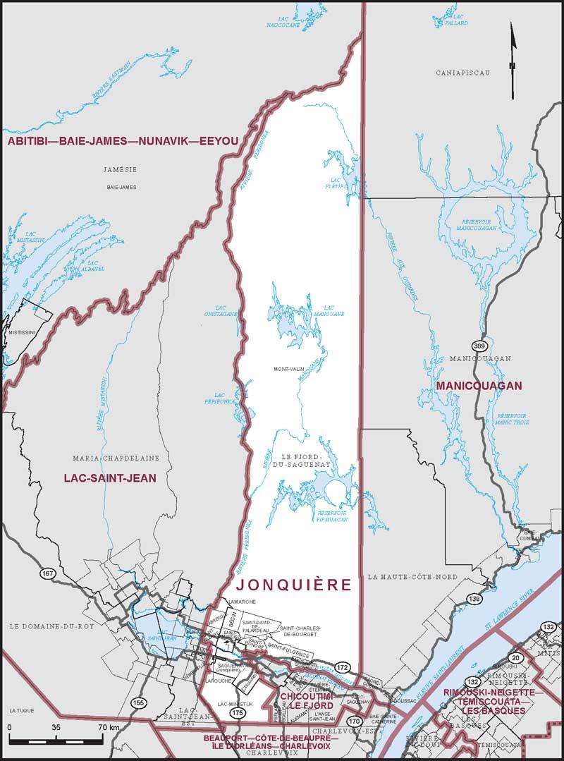 Jonquire Maps Corner Elections Canada Online