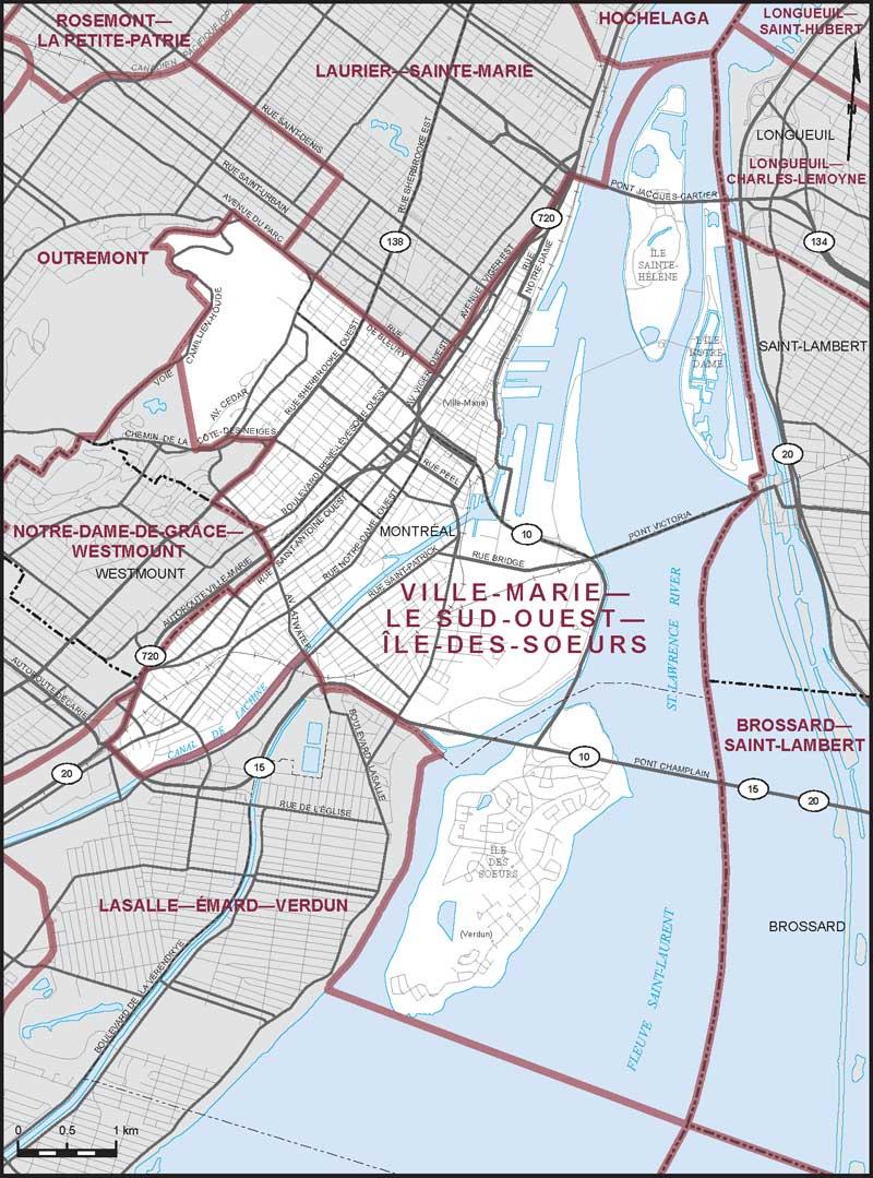VilleMarieLe SudOuestledesSurs Maps Corner Elections