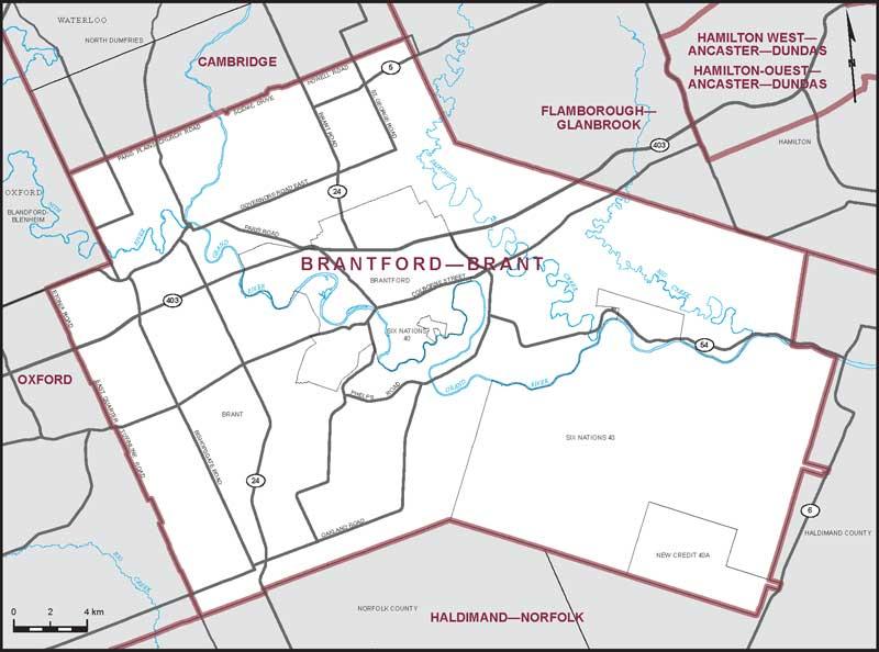 BrantfordBrant Maps Corner Elections Canada Online