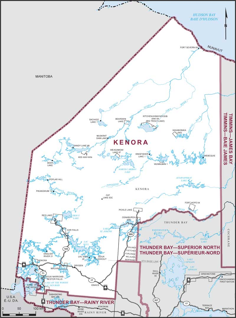 Kenora (electoral district)