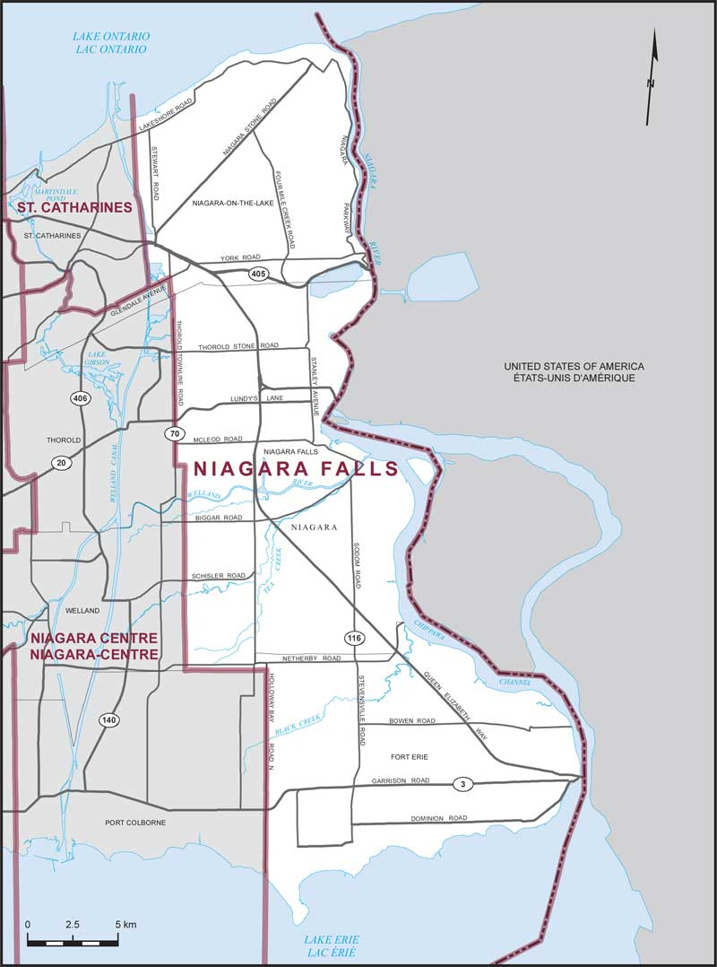 Niagara Falls | Maps Corner | Elections Canada Online