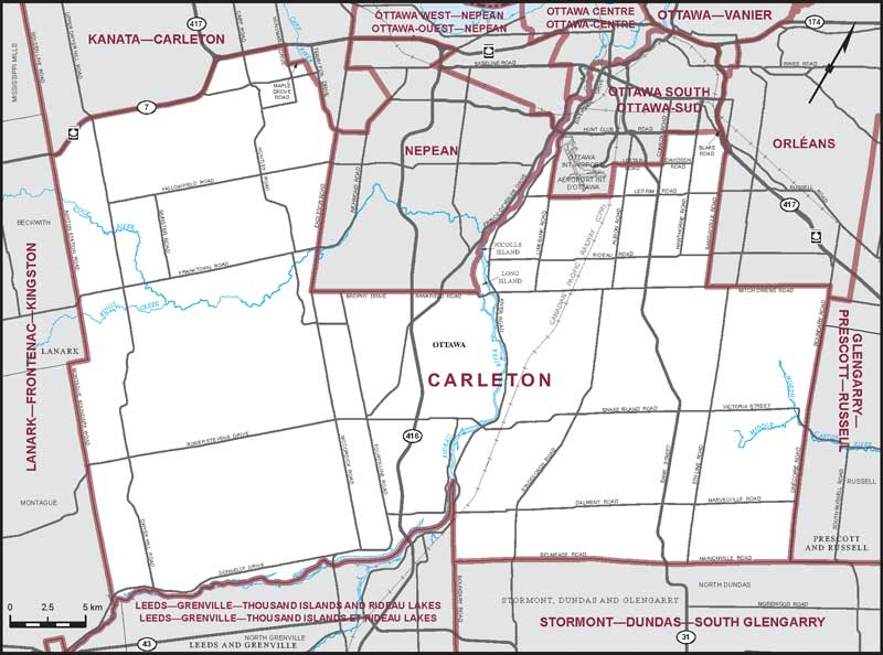 Carleton  Maps Corner  Elections Canada Online