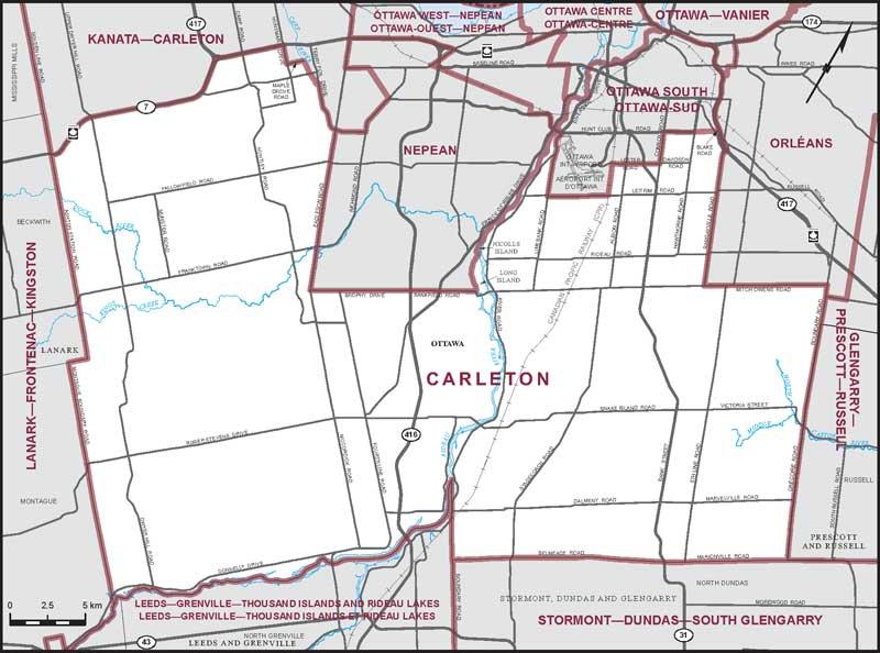 Carleton Maps Corner Elections Canada Online