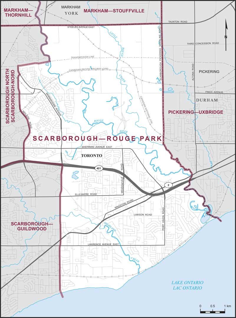 ScarboroughRouge Park Maps Corner Elections Canada Online