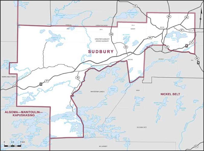 Sudbury Maps Corner Elections Canada Online