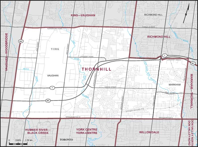 Thornhill Maps Corner Elections Canada Online