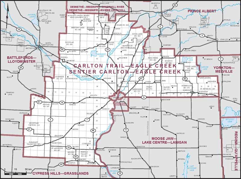 Carlton TrailEagle Creek Maps Corner Elections Canada Online