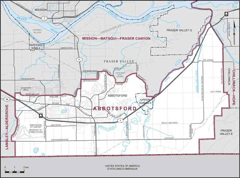 Abbotsford Maps Corner Elections Canada Online