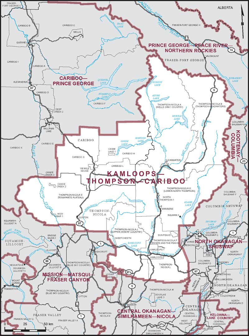 KamloopsThompsonCariboo  Maps Corner  Elections Canada