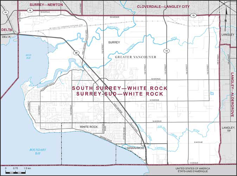 South SurreyWhite Rock Maps Corner Elections Canada Online