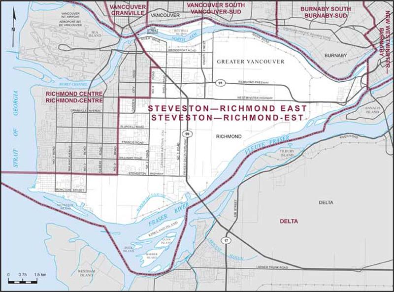 StevestonRichmond East  Maps Corner  Elections Canada