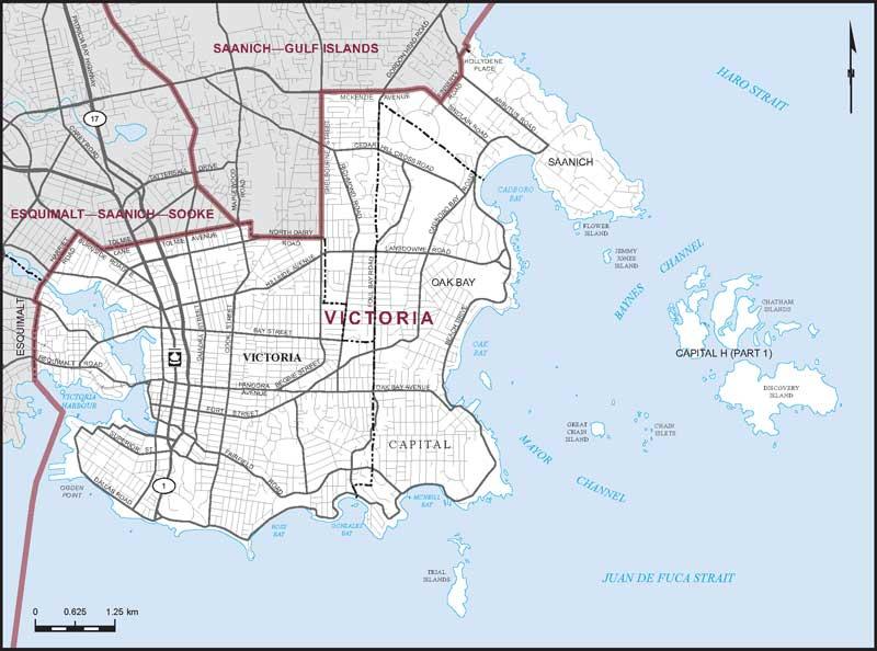 Victoria Maps Corner Elections Canada Online