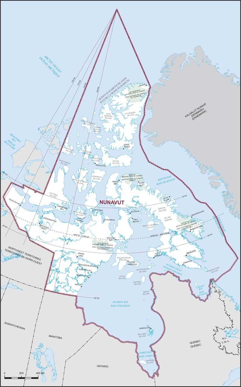 Map Of Canada Nunavut.Nunavut Maps Corner Elections Canada Online
