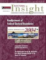 Electoral Insight: October 2002