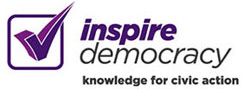 Logo of Inspire Democracy website
