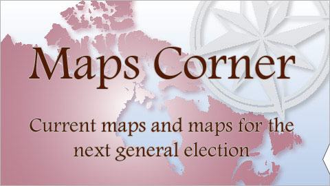 Maps Corner - Current maps and maps for the next general election