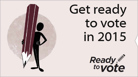 Get ready to vote in 2015