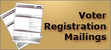 Voter Registration Mailings icon